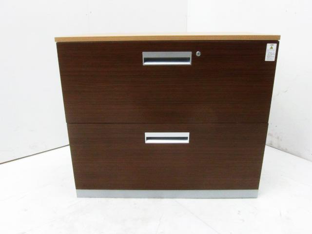 BWU L2A39S81D55 横浜にて、オフィス家具 コクヨ 天板付き2段ラテラル書庫BWU L2A39S81D55を買取いたしました。