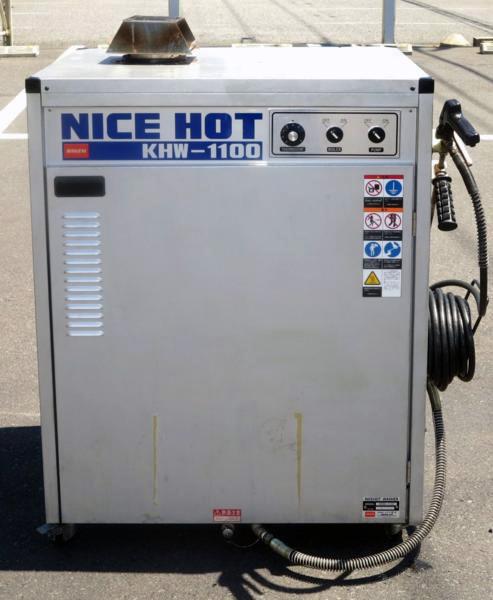 KHW 1100 横浜にて、工具 バンザイ 高圧温水洗浄機ナイスホットシリーズKHW 1100を買取いたしました。