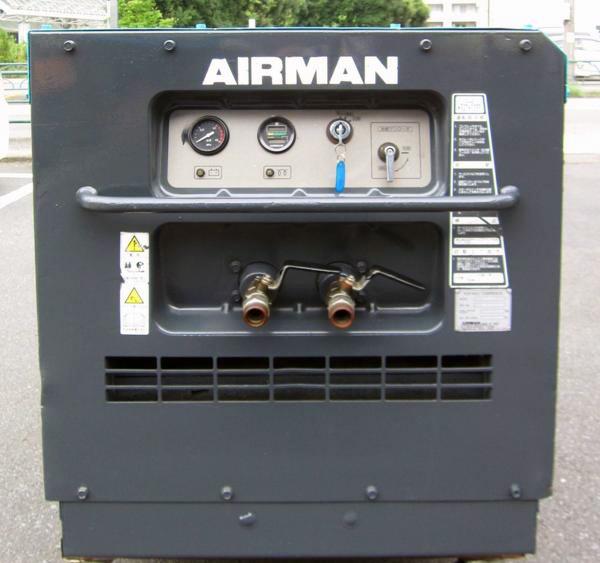 PDS70S 横浜にて、工具 北越工業AIRMANエンジンコンプレッサーPDS70Sを買取致しました。